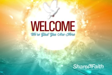 Pentecost Come Holy Spirit Welcome Motion Video