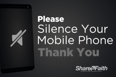 Silence Your Phone Welcome Video Loop HTC
