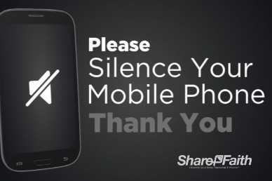 Silence Your Phone Welcome Video Loop Samsung Galaxy