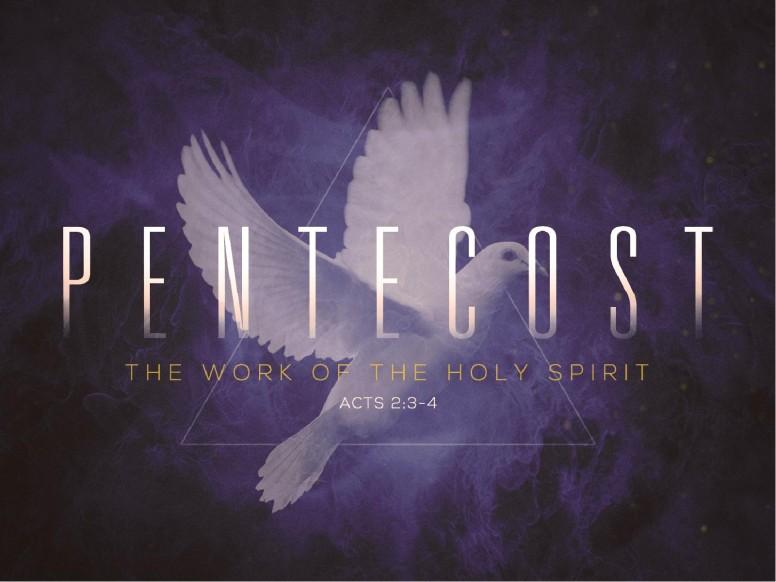 Pentecost Holy Spirit Church PowerPoint