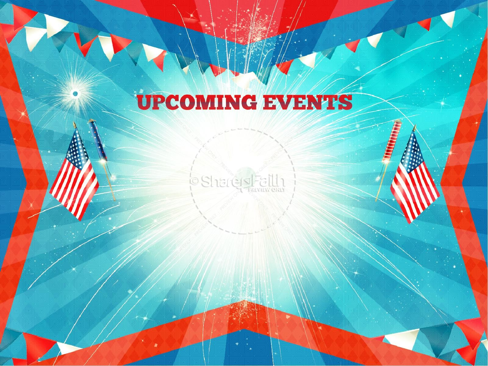Independence Day 4th of July Religious PowerPoint