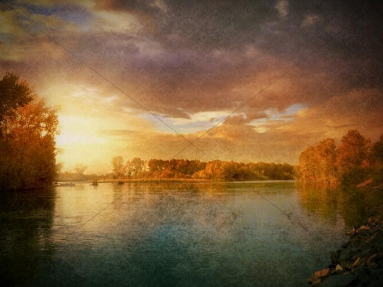 Lake Forest Nature Worship Background