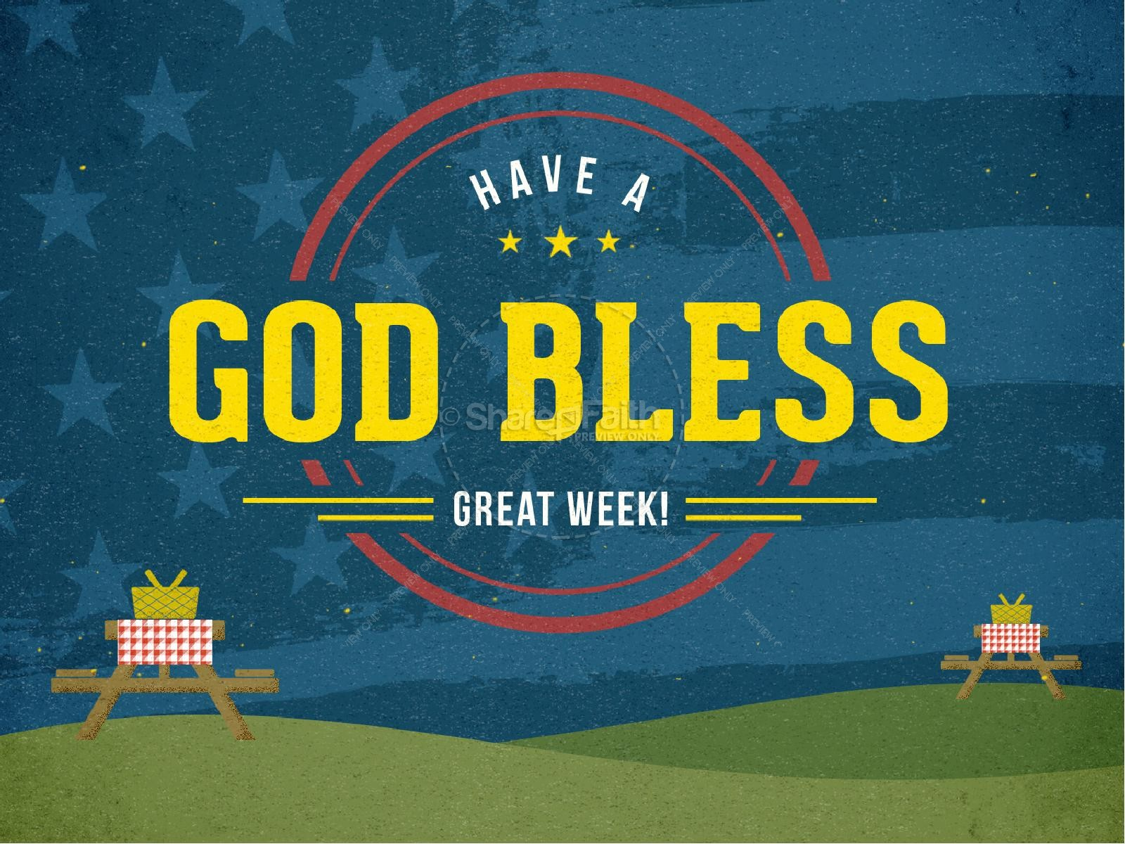 Home of the Brave Fourth of July Ministry PowerPoint | slide 4
