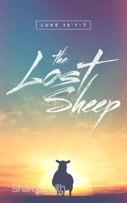the lost sheep christian bulletin