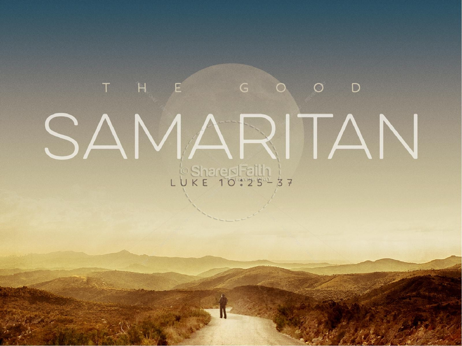 The Good Samaritan Church PowerPoint