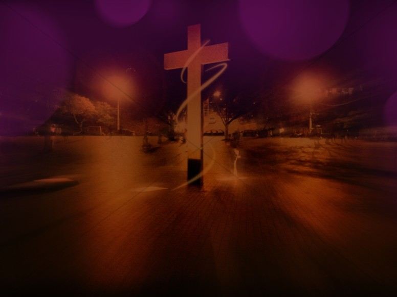 Cross Metro Christian Stock Photography