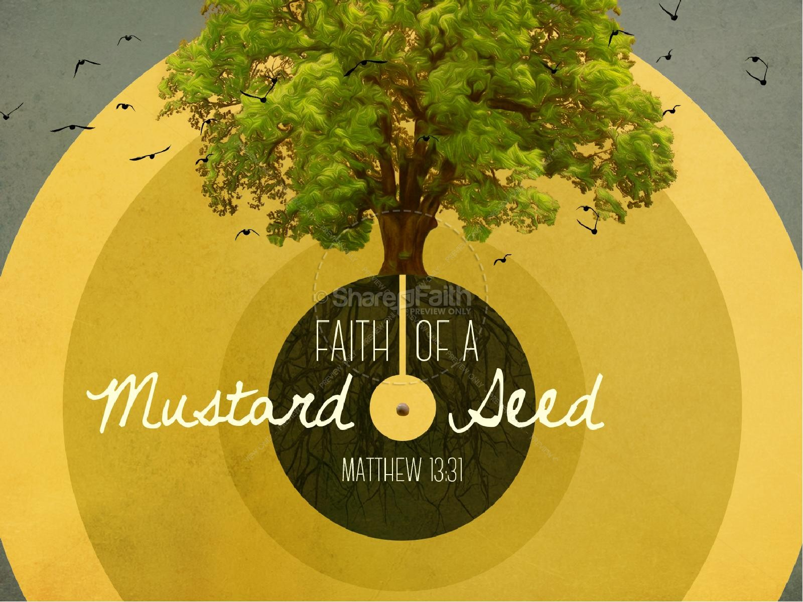Faith of a Mustard Seed Ministry PowerPoint | slide 1