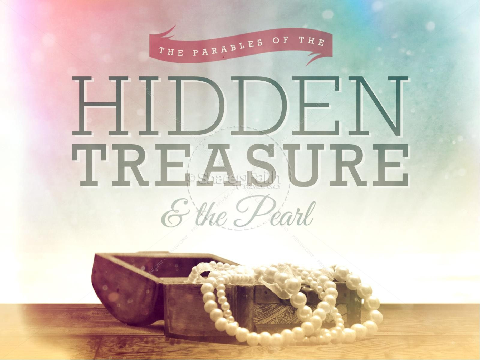 The Parable of the Hidden Treasure and the Pearl Ministry PowerPoint