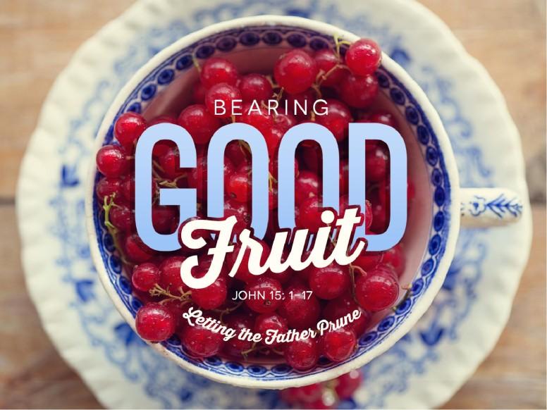 Bearing Good Fruit Religious PowerPoint