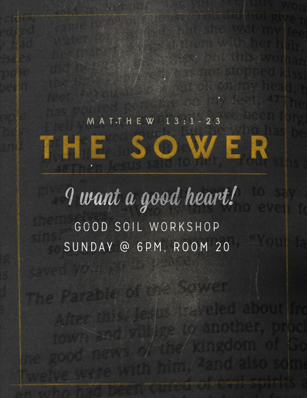 The Sower Ministry Flyer