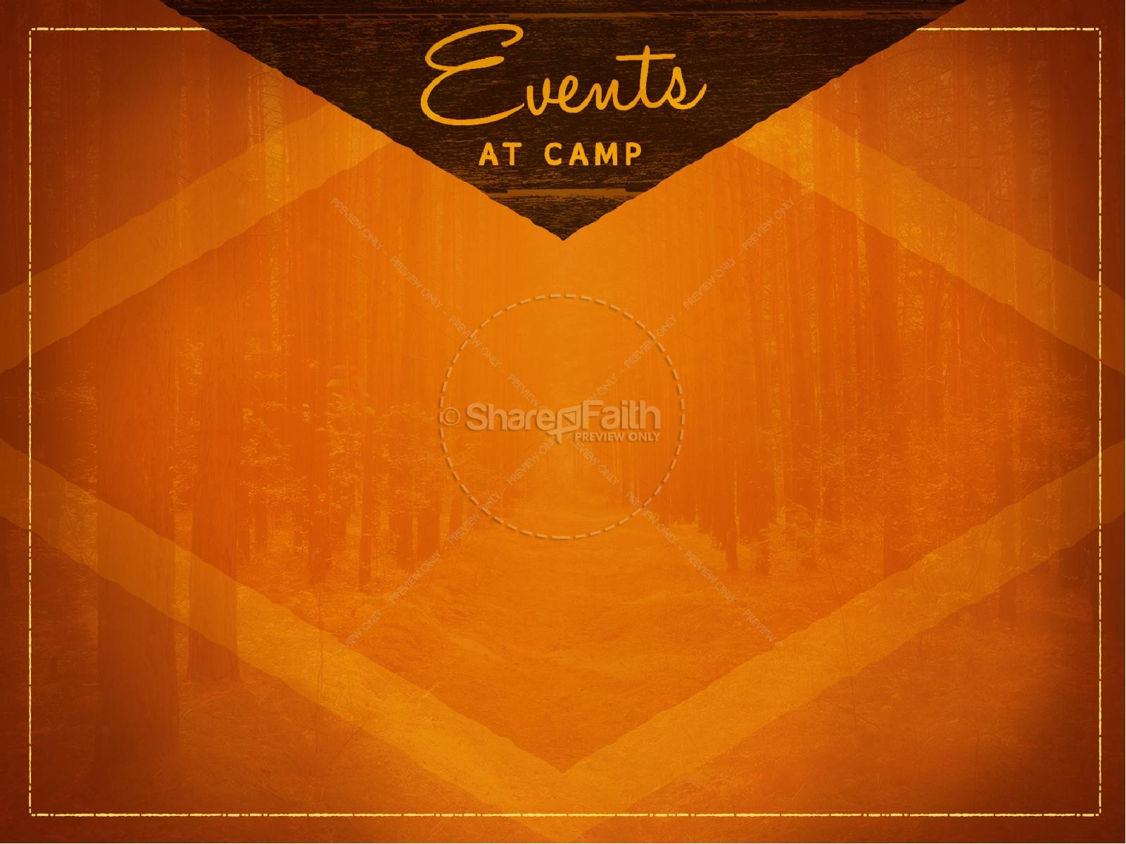 Camp Retreat Christian PowerPoint