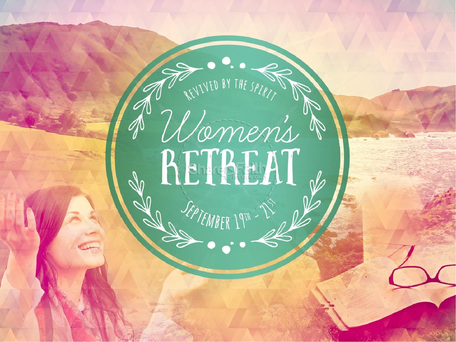 Women's Retreat Religious PowerPoint