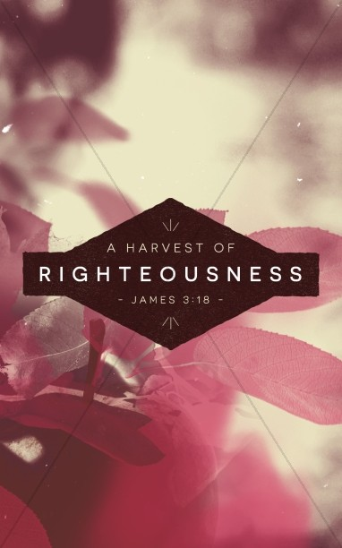 The Harvest of Righteousness Religious Bulletin