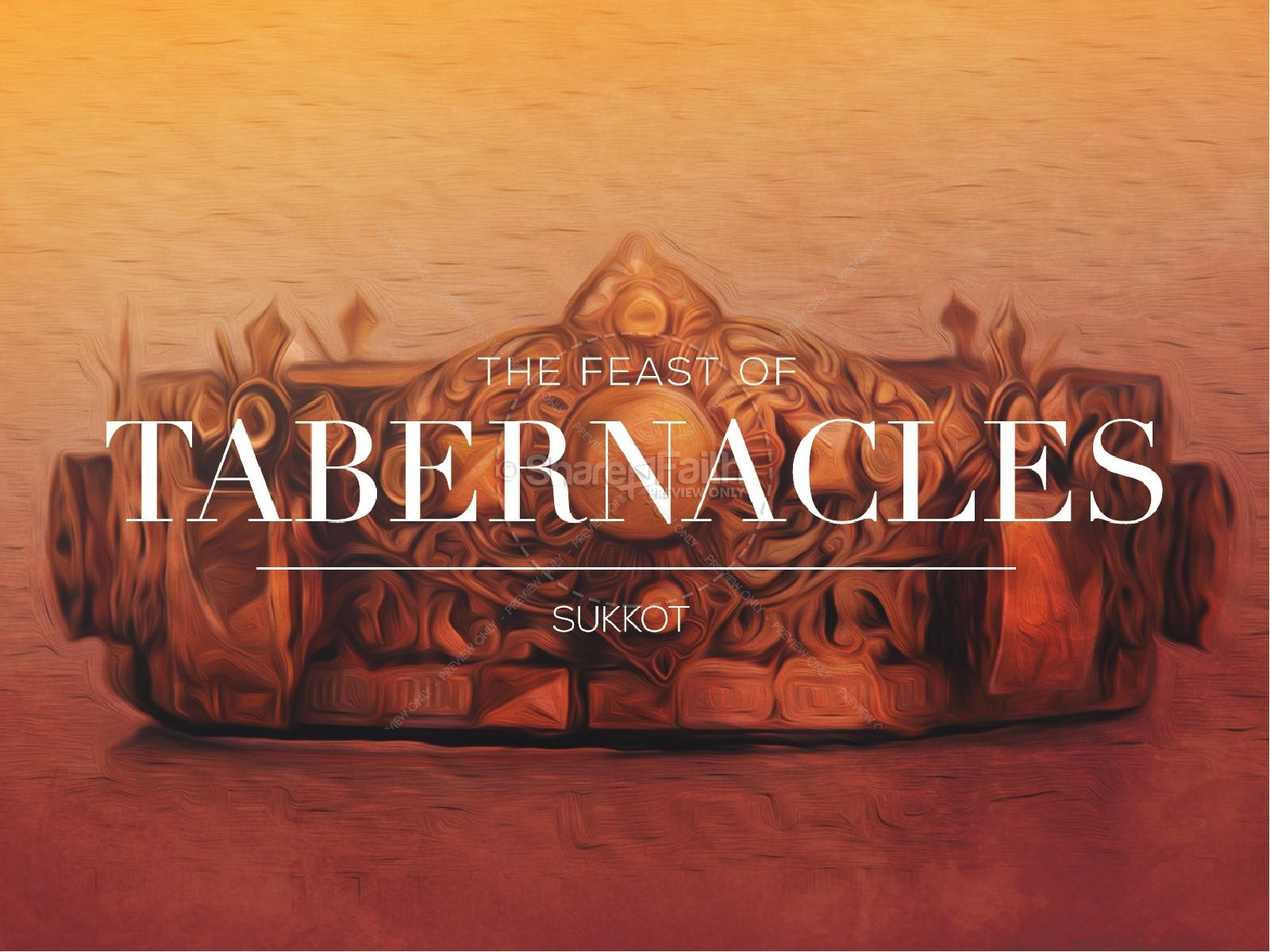 Feast of Tabernacles Ministry PowerPoint