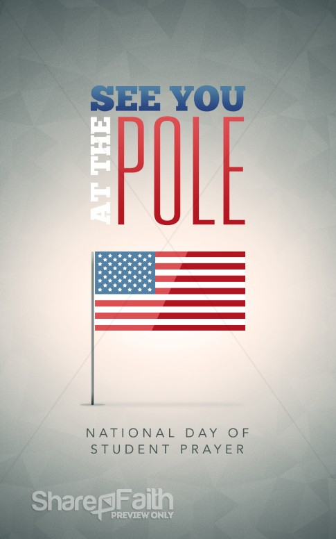 See You At The Pole Christian Bulletin Secular Holiday