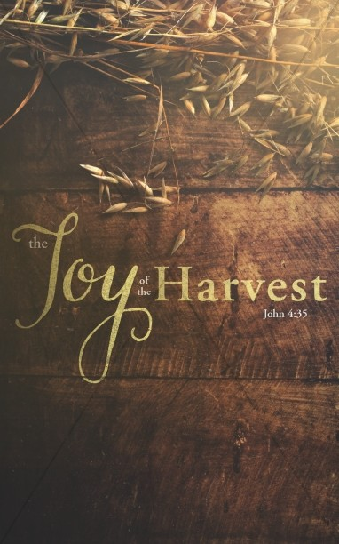 Joy of Harvest Ministry Bulletin