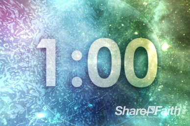 1 Minute Cosmic Ministry Minute Countdown Timer