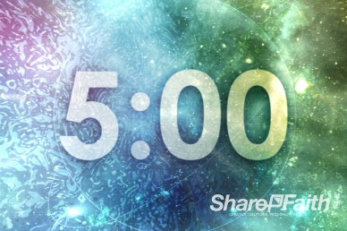 5 Minute Cosmic Ministry  Religious Countdown Timer