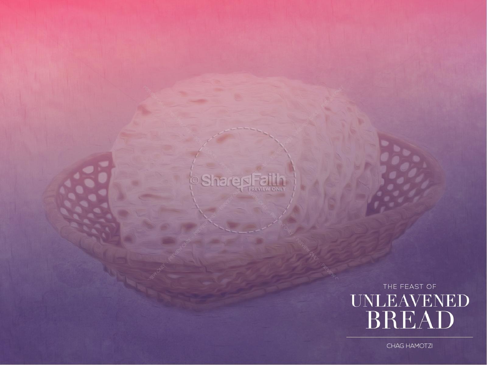 Feast of Unleavened Bread Christian PowerPoint