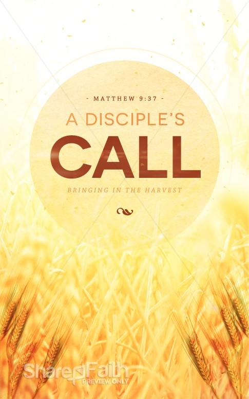 A Disciples Call Religious Bulletin