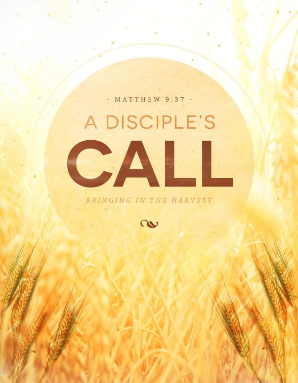 A Disciples Call  Religious Flyer
