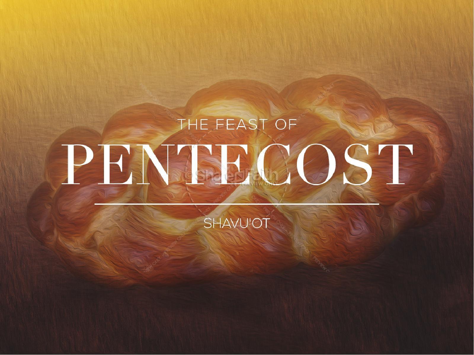 Pentecost Bread  Religious PowerPoint