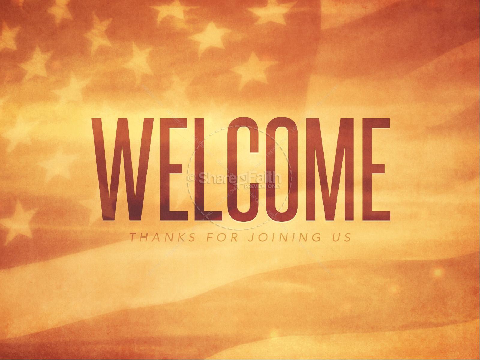 Celebrating Veteran's Day Christian PowerPoint