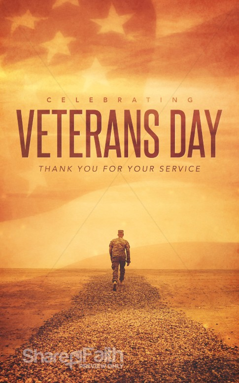 Celebrating Veteran 39 s Day Christian Bulletin Secular
