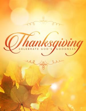 Thanksgiving Celebrate God 39 s Goodness