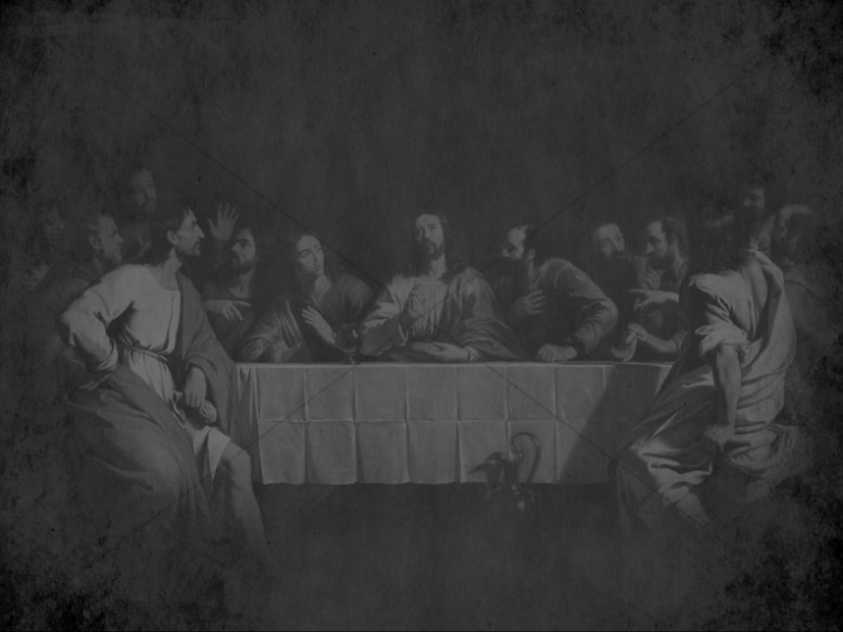 The Last Supper Religious Worship Background