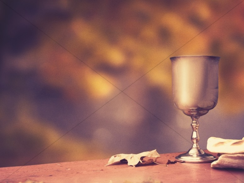 Communion Theme Church Wallpaper