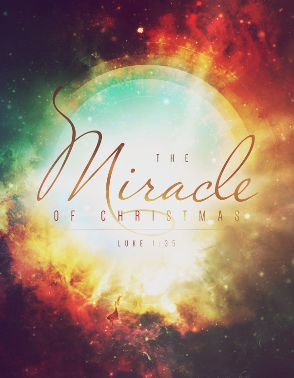 Miracle of Christmas Ministry Flyer
