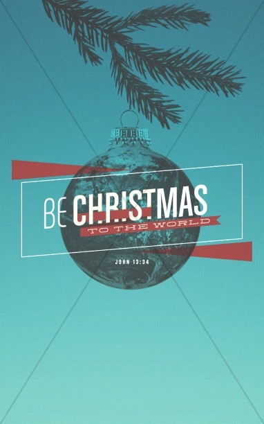Be Christmas Church Bulletin