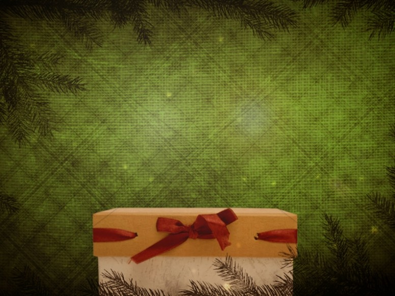 The Gift of Christmas Church Background