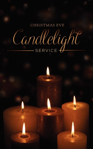 Candlelight Service Religious Bulletin