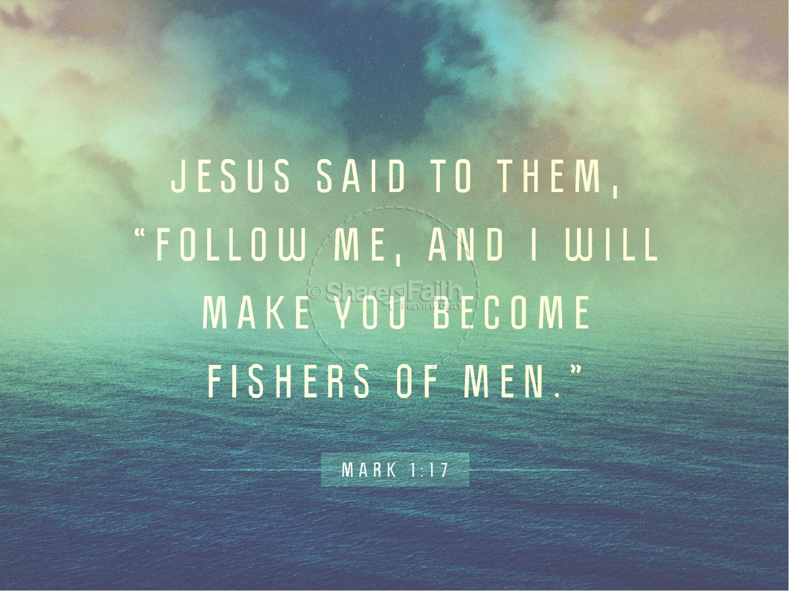 Following Jesus Ministry PowerPoint