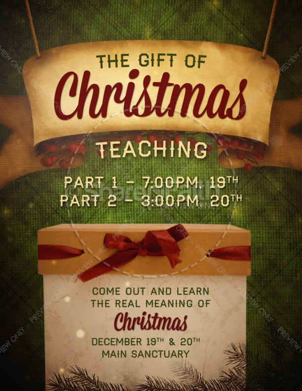 The gift of christmas cantata clip