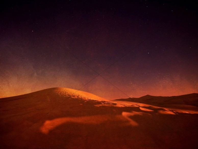 Desert Glow Christian Wallpaper