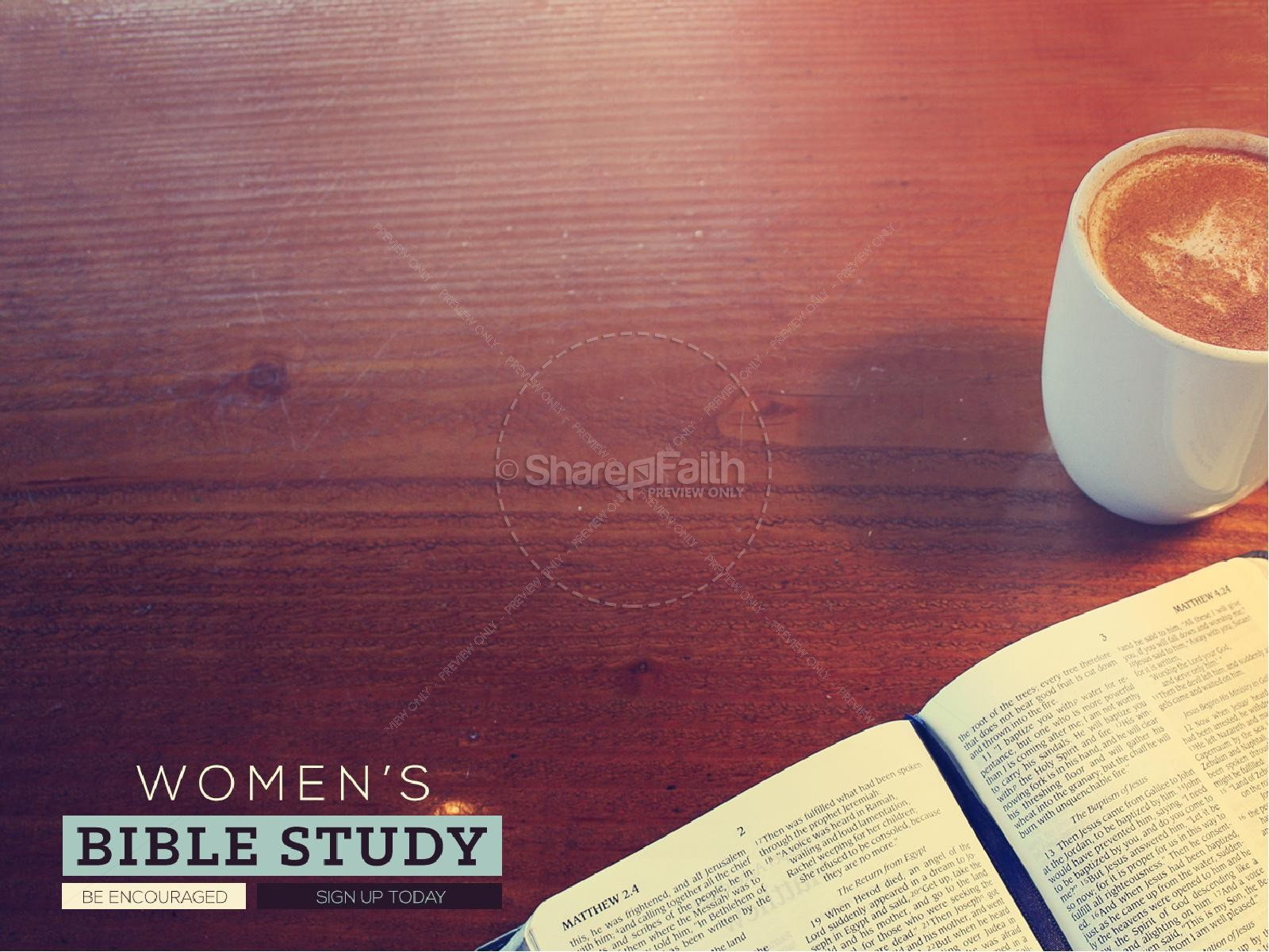 Bible Study PowerPoint Presentation Charts and Slides ...