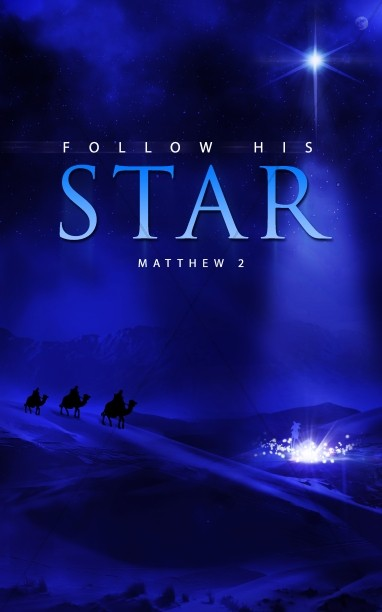 Follow His Star Christian Bulletin