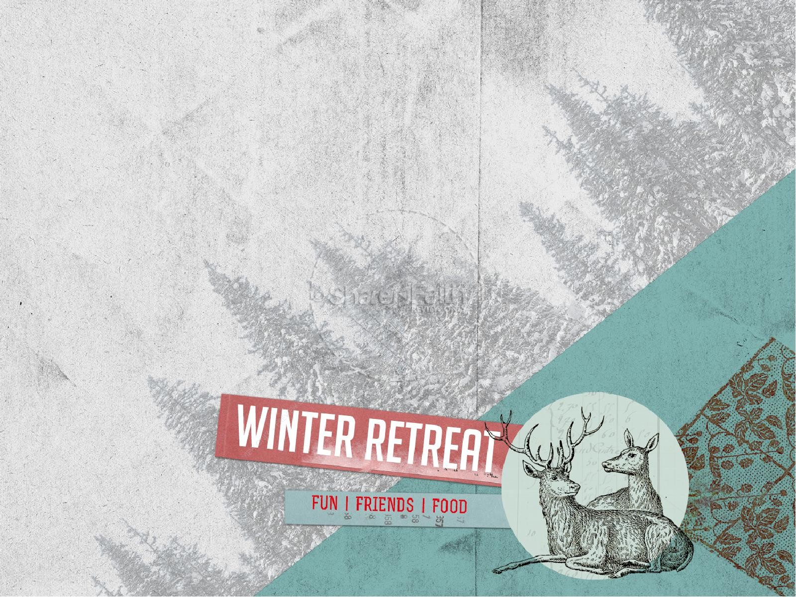 Winter Retreat Christian PowerPoint