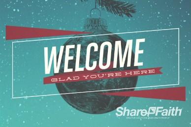 Be Christmas Church Service Video Loop