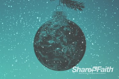 Be Christmas Church Worship Video Loop