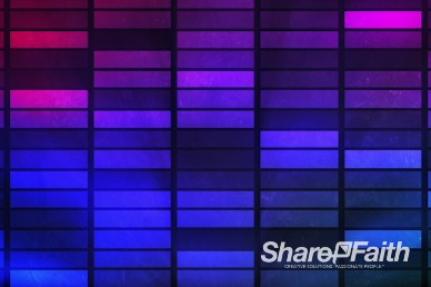 Grid Colors Church Service Motion Background Video