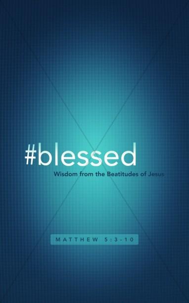 Hashtag Blessed Religious Bulletin