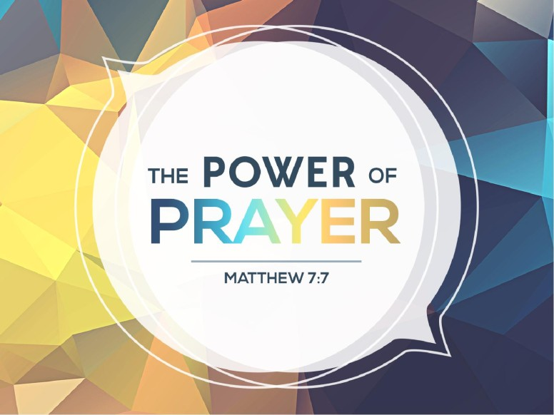 Power of Prayer Church PowerPoint