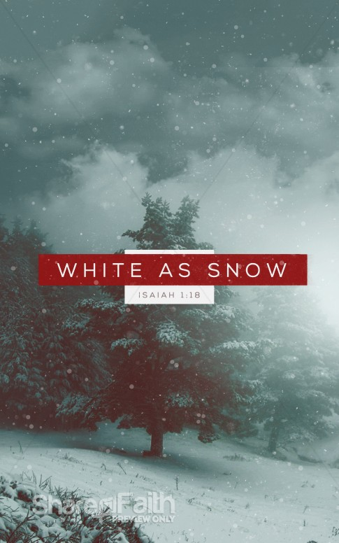 White as Snow Christian Ministry