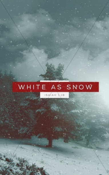 White as Snow Christian Ministry Bulletin