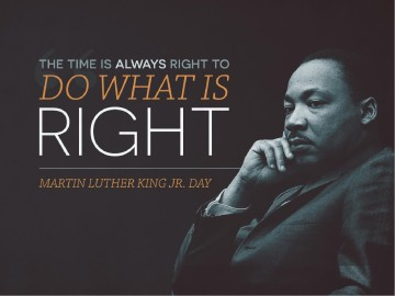 Martin Luther King Jr Day Church Powerpoint Powerpoint