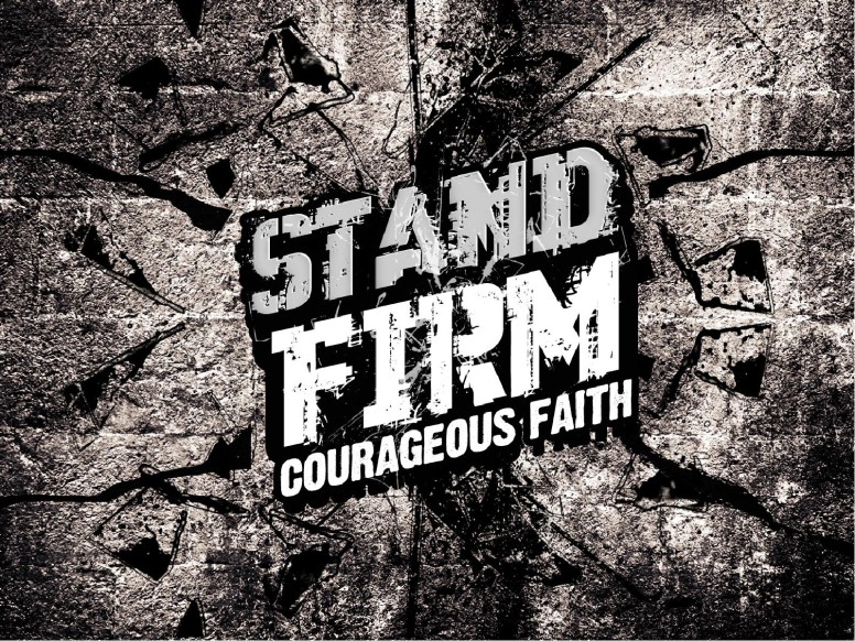 Stand Firm Religious PowerPoint
